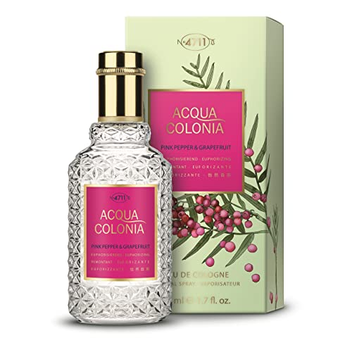 4711 Acqua Colonia Pink Pepper and Grapefruit Eau de Cologne Spray for Unisex 50 ml from Unknown