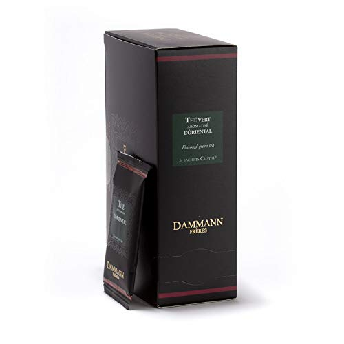 DAMMANN FRERES - L'Oriental Green Tea - 24 wrapped envelopped tea bags from Unknown