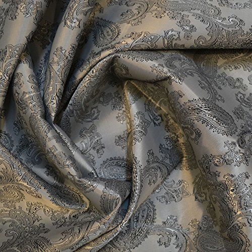 Grey/Black Jacquard Lining Fabric C9 (C6340) from Unknown