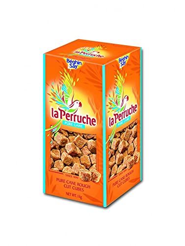 La Perruche Rough Sugar Cubes Brown (1kg) from Unknown