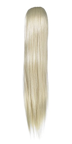 Love hair Extensions Alice Crocodile Clip Synthetic Hair Ponytail Colour 24 Sunlight Blonde 18 -Inch from Unknown