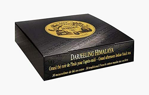 Mariage Frères - DARJEELING HIMALAYA® - Box of 30 traditional french muslin tea sachets from Unknown