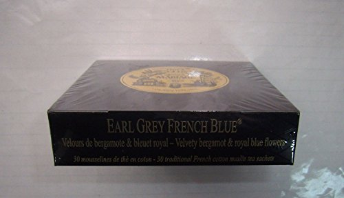 Mariage Frères - EARL GREY FRENCH BLUE® - Box of 30 traditional muslin tea sachets from Unknown