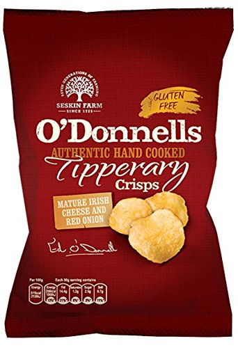 O'Donnells Mature Irish Cheese and Red Onion Flavour (2 x 125g) from Ireland from Unknown