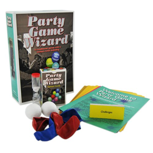 Party Games Wizard - 16 Traditional Games with a Modern Twist from Generic