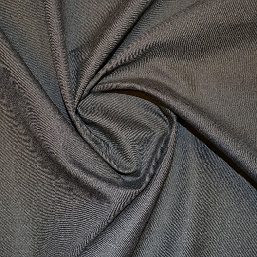 School Grey Teflon Coated Polyester Twill Fabric from Unknown