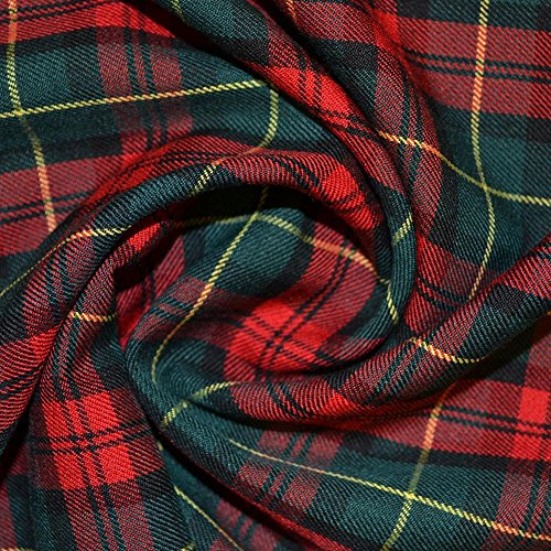 Tartan Fabric (C3589) from Unknown