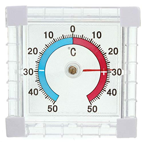 Window Mounted Temperature Thermometer for Garden Greenhouse Home Office Room COD from Unknown