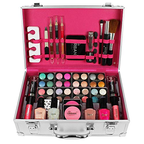 Urban Beauty - Vanity Case Cosmetic Make Up Urban Beauty Box Travel Carry Gift Storage 60 Piece from Urban Beauty