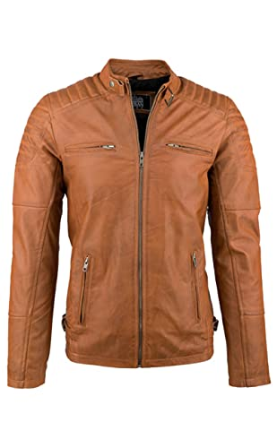 Urban Leather Ralph – Tan – Size M from Urban Leather