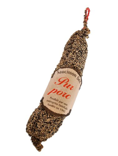 Black Pepper Saucisson from the French Alpes 210g from Urban Merchants