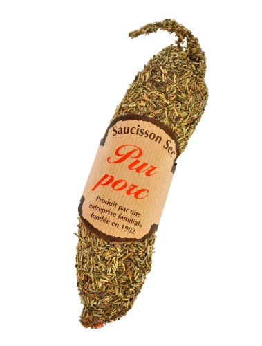Pur Pork Saucisson with Herb de Prevance from the French Alpes 210g from Urban Merchants