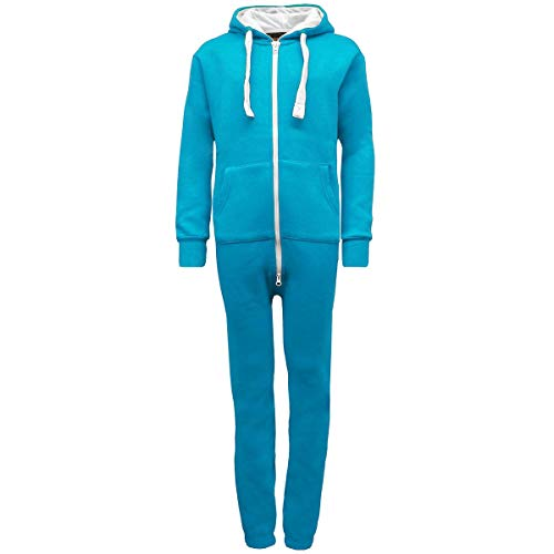 Urban Road Kids Unisex Plain Onesie Boys Girls Youth Toddlers Jumpsuit Playsuit Turquoise from Urban Road