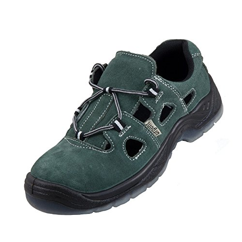 4de5a8445420 Leightweight Suede Leather Men  s Sandal Safety Work Shoe with Steel Toe  Cap Urgent 305