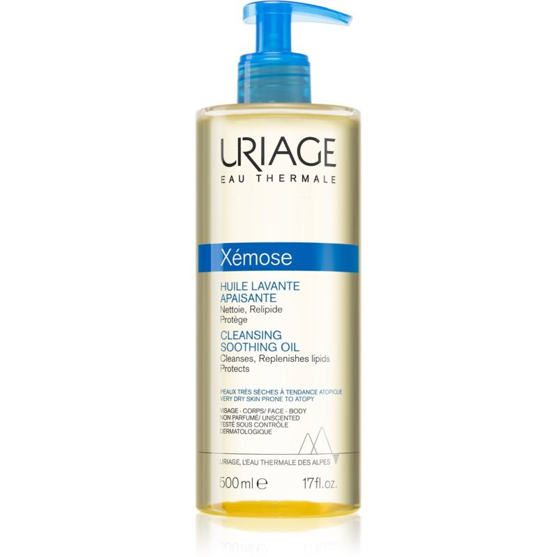 Uriage Xémose Soothing Cleansing Oil for Face and Body 500 ml from Uriage