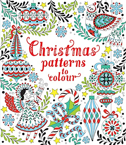 Christmas Patterns to Colour from Usborne Publishing Ltd