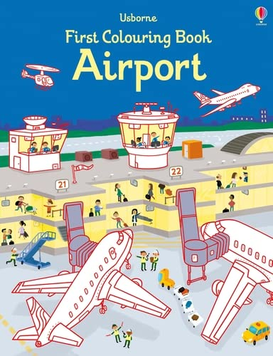 First Colouring Book Airport (First Colouring Books) from Usborne Publishing Ltd