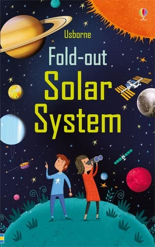 Fold-Out Solar System (Fold-Out Books): 1 from Usborne Publishing Ltd