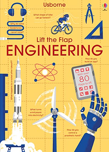 Lift the Flap Engineering from Usborne Publishing Ltd