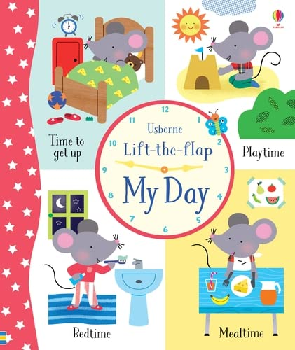 Lift-the-Flap My Day: 1 from Usborne Publishing Ltd