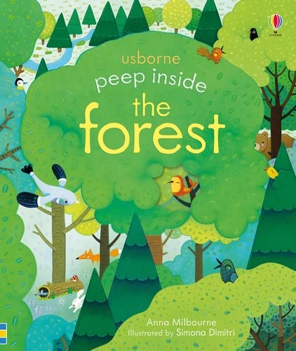Peep Inside the Forest: 1 from Usborne Publishing Ltd