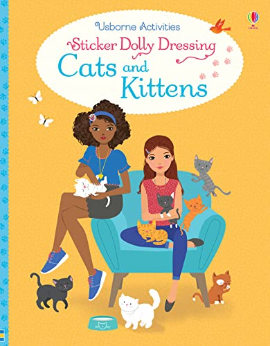 Sticker Dolly Dressing Cats and Kittens from Usborne Publishing Ltd