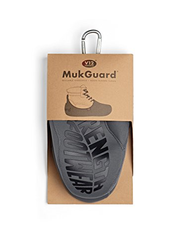 V12 Mukguard, Re-Usable Overshoe, M (07/08 UK 41/42 EU), Grey from V12