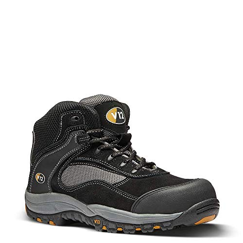 V12 Track, Safety Hiker, 12 UK 47 EU, Black/Graphite from V12