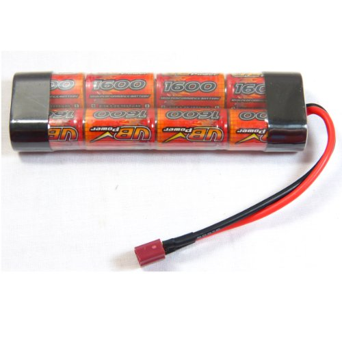 VB POWER STD AIRSOFT BATTERY 9.6V BATTERY 1600 MAH DEANS CONNECTOR NI-MH BATTERY from VB Power