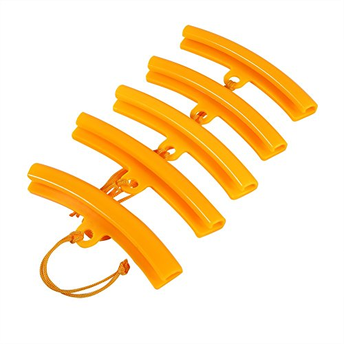 VGEBY Tyre Changing Wheel Hub Protector Wheel Fixing Tyre Rim Cover Case Tool (Pack Of 5) ( Color : Orange ) from VGEBY