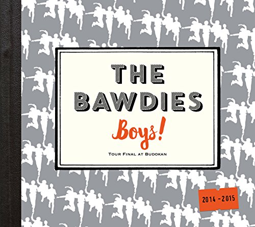The Bawdies - Boys! Tour 2014-2015 Final At Nippon Budokan (2CDS) [Japan CD] VICL-64364 from VICTOR JAPAN