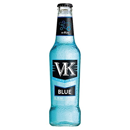VK Blue Premix Fruity Vodka Drink (24 x 275ml Bottles) from VK