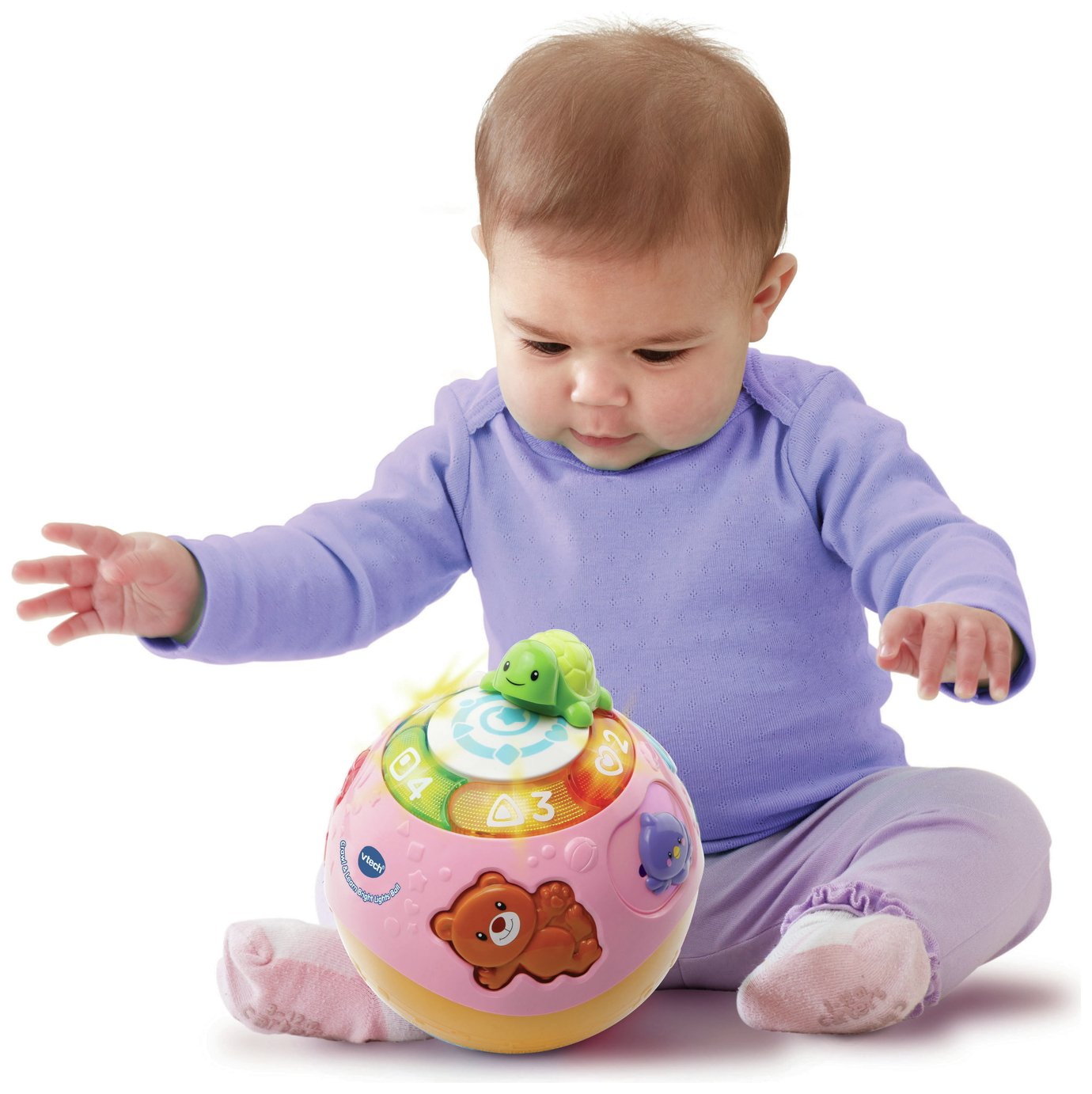 VTech Crawl and Learn Ball - Pink from VTech