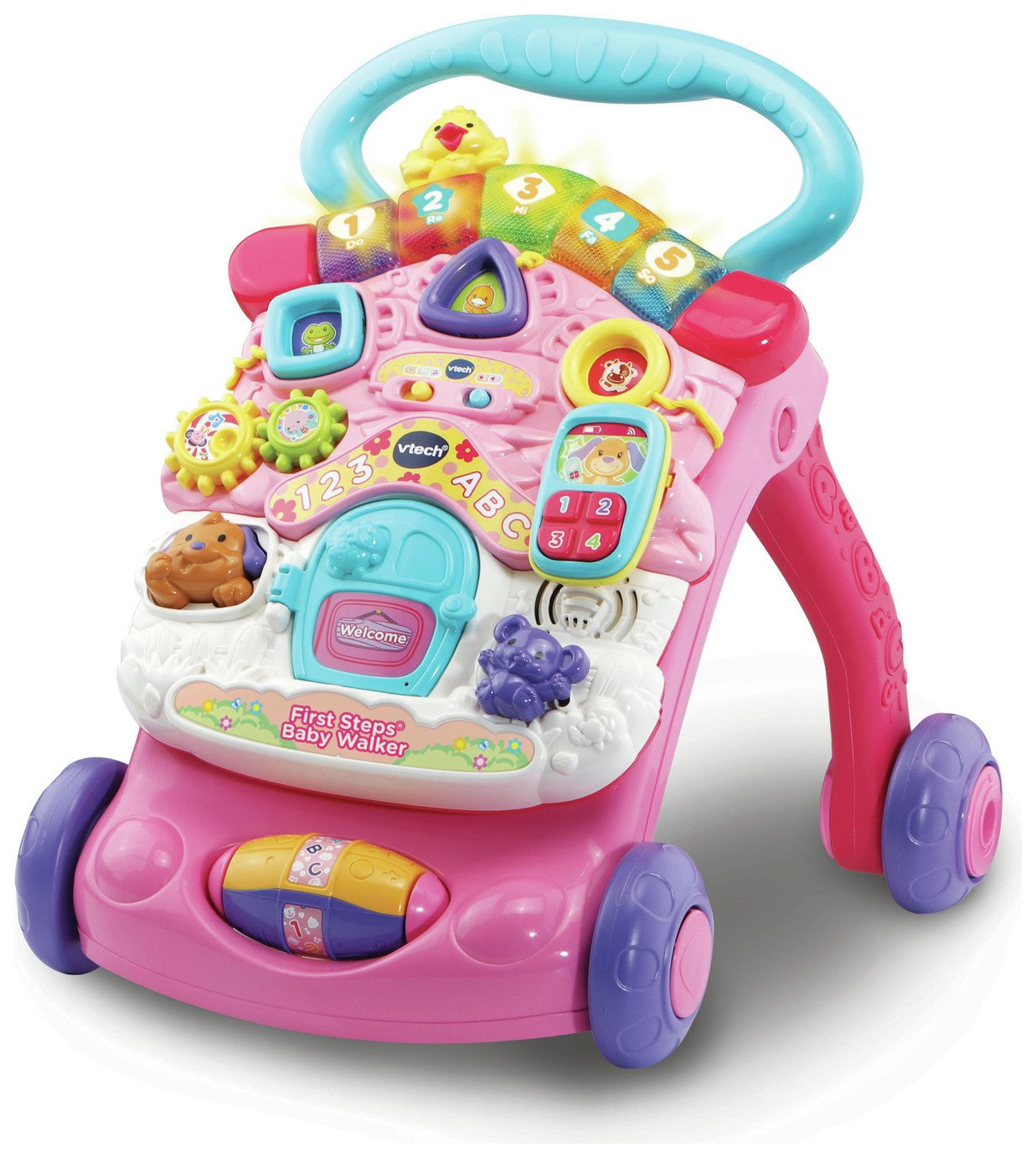 VTech First Steps Baby Walker - Pink from VTech