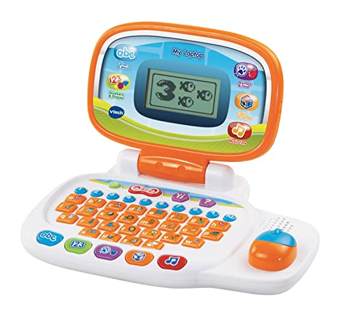 VTech Pre-School My Laptop - White/Orange from VTech