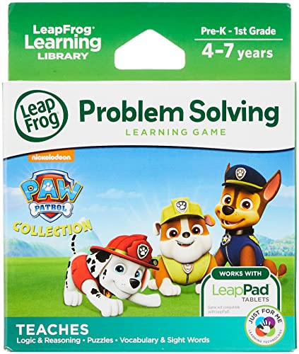 "LeapFrog 490303"" Learning Game Paw Patrol Toy from LeapFrog"