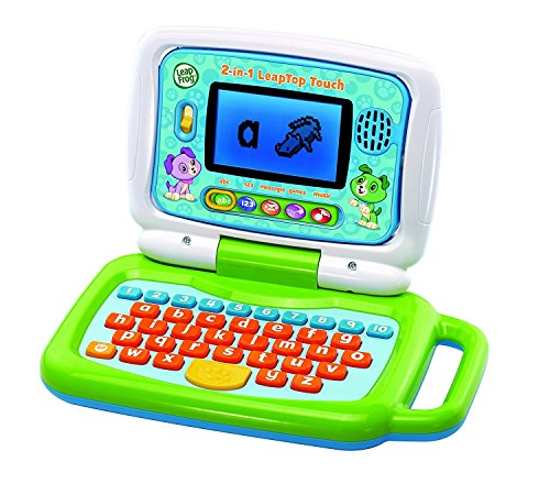 "LeapFrog 600903 ""2 in 1 Leap Top Touch"" Toy, Green from LeapFrog"