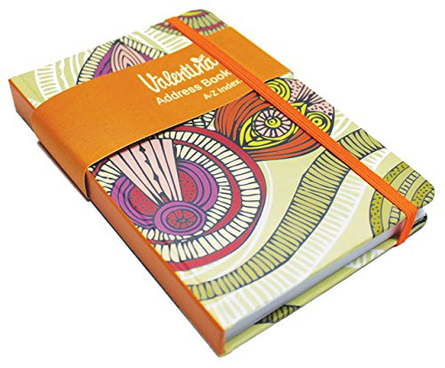 Valentina A6 Pocket Address Book Lita, Paper, Multi-Colour, 2 x 17 x 11.5 cm from Valentina