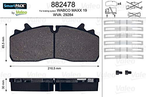 VALEO 882478 Brake Pads from Valeo