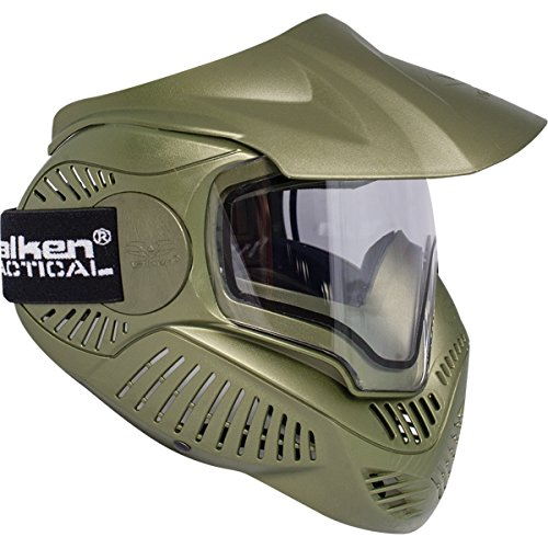 Valken Boy Annex Mi-7 Goggles, Olive, Medium from Valken