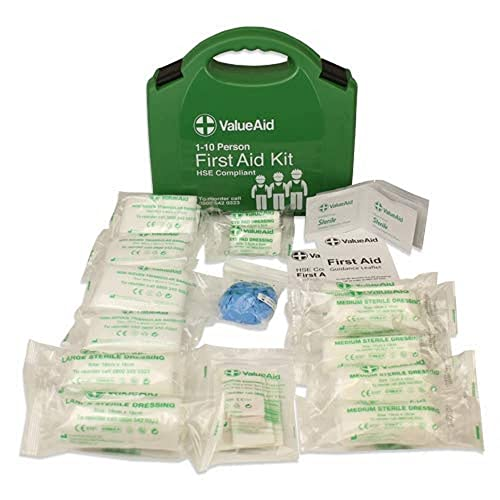 Value Aid HSE Compliant Workplace First Aid Kit (1-10 Person) from Value Aid