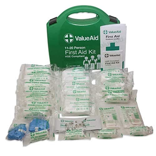 Value Aid HSE Compliant Workplace First Aid Kit (11-20 Person) from Value Aid