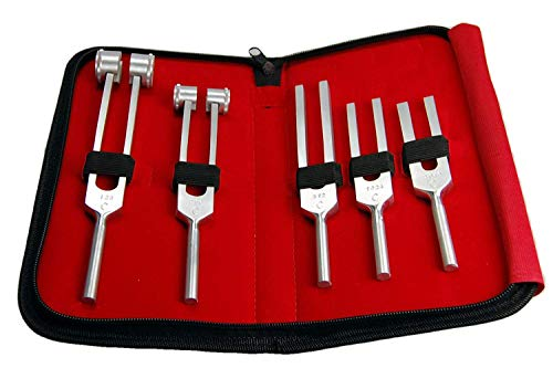 VALUEMED® 5 pce Medical Tuning fork set 128, 256, 512, 1024 & 2048Hz from Valuemed
