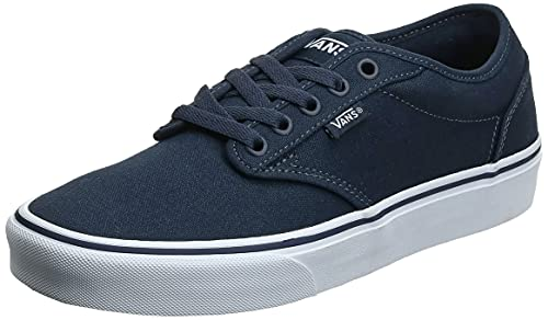 Vans Atwood, Men's Low-Top Sneakers, Blue (Canvas - Navy/White), 12 UK (47 EU) from Vans