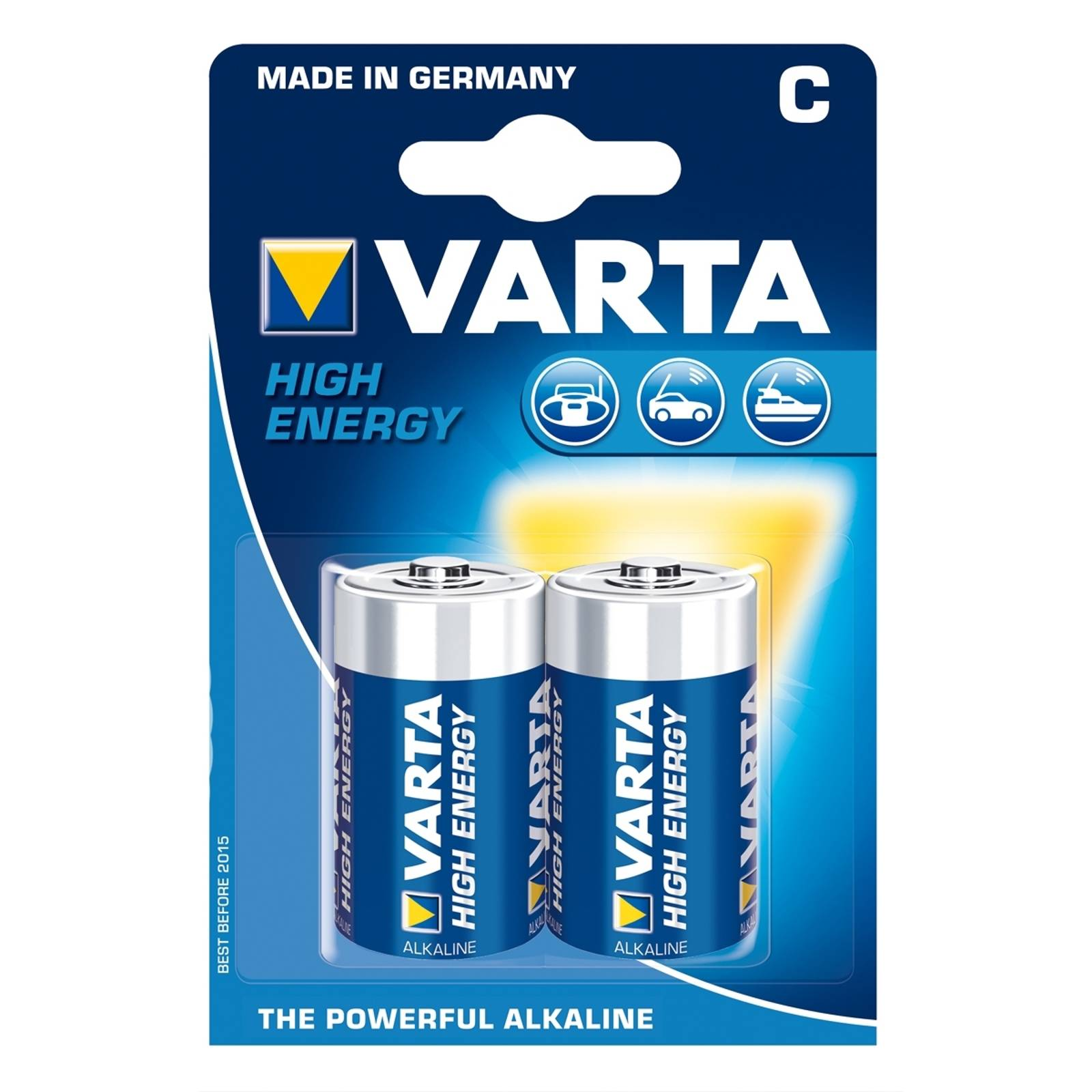 VARTA High Energy Baby 4914 - C batteries from Varta