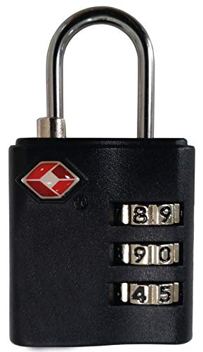 Vaude Unisex Tsa Combination Lock Hiking Accesory, Silver/Silver/Black, One Size from Vaude