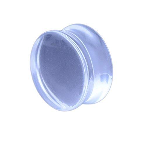 8mm Clear Glass Ear Plug from Vault 101 Limited