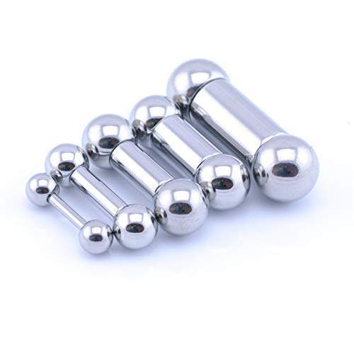 Vault 101 Limited Heavy Gauge Barbell - 2.5mm (10g) x 14mm x 6mm Balls from Vault 101 Limited