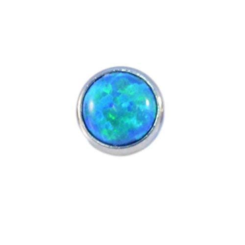 Zircon FLAT OPAL TOP - 0.9mm x 3mm from Vault 101 Limited
