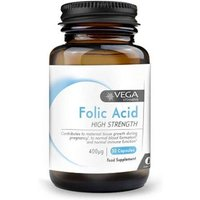 Vega Folic acid 30 capsules from Vega